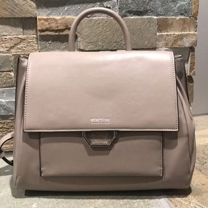 NWT Kenneth Cole Reaction medium Backpack in taupe